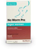 Exil No Worm Pro - Hond - 4 Tabletten