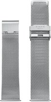 KANE Watches Silver Metal Mesh Strap