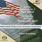 "Dvorak: Symphony No. 9, Tchaikovsky: Overture ""Romeo and Juliet"" - Kreizberg -SACD- (Hybride/Stereo/5.1)"