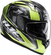 HJC FG ST Kume Helm Zwart Groen
