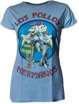 Breaking Bad Dames Shirt – Los Pollos Hermanos maat M