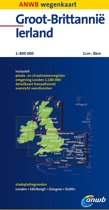 ANWB wegenkaart - Groot-Brittannië en Ierland
