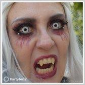 Carnaval Partylenzen - White Manson - jaarlenzen incl. lenzendoosje - kleurlenzen Partylens®