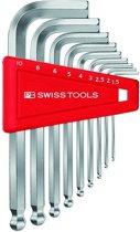 PB Swiss Tools Stiftsleutelset binnenzeskant 9 delig kogelkop