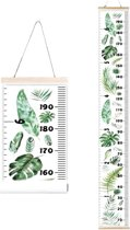 Groeimeter Kinderkamer Urban Jungle | Wand Decoratie Kinder Kamer