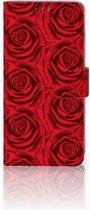 Huawei P30 Pro Uniek Boekhoesje Red Roses