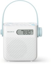 Sony ICF-S80 - Douche radio - Wit