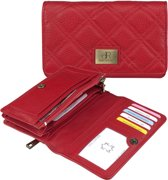 dR Amsterdam Mint 110102 Damesportemonnee - Red