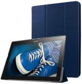 Lenovo Tab 10 - Tri-Fold Book Case - Donker Blauw