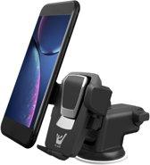 Auto Telefoonhouder / Smartphone Houder - Universeel voor iPhone / Samsung / Huawei - Zuignap Voorruit & Dashboard - iCall