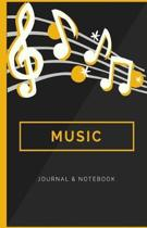 Music Journal & Notebook