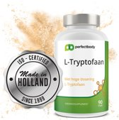L-tryptofaan Supplementen - 90 Vcaps - PerfectBody.nl