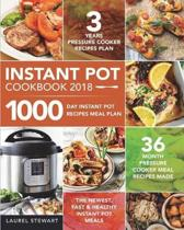 Instant Pot Cookbook 2018
