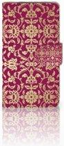 HTC Desire 310 Hoesje Design Barok Pink