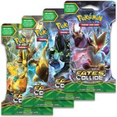 Pokemon booster XY10 sleeved Fates Collide