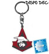 Assassin's creed - metal keychain - bird/crest