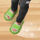 X6 Clean & Go! Schoonmaak Slippers