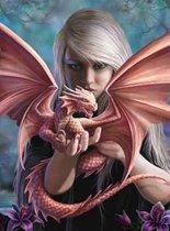 Anne Stokes Wenskaart Dragonkin
