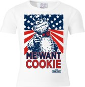 Logoshirt T-Shirt Cookie Monster - Me Want Cookie