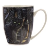 Beker Zwarte kat Lisa Parker-