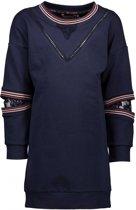 NONO Meisjes jurken NONO Matty sweat dress with elbow detail navy 146/152