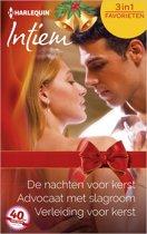 De nachten voor kerst / Advocaat met slagroom / Verleiding voor kerst - Intiem Favorieten 466, 3-in-1