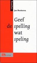 Geef De Spelling Wat Speling