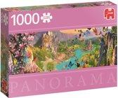 Het land van de Elfen  Panorama Premium Quality - Puzzel 1000 stukjes