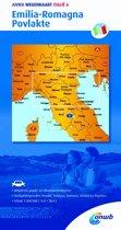 ANWB wegenkaart - Italië 6. Emilia-Romagna,Povlakte