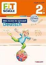 Fit für die Schule: Das musst du wissen! Deutsch 2. Klasse