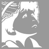 Pronty Mask stencil Silhouette boy 470.801.049 15x15 centimeter