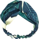 Haarband Bohemian Ibiza Blauw/Groen - Bandana - one size