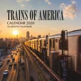 Trains of America Calendar 2020: 16 Month Calendar