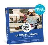 GiftForYou Cadeaubon - Ultimate Choice