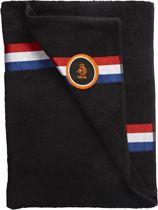 KNVB Goal Handdoek - Zwart - 70x140
