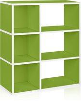 Way Basics Sutton - Boekenkast - Groen
