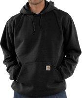 Carhartt Midweight Hooded Sweatshirt Black Heren Size : L