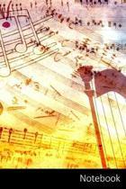 Notebook: 子供と大人のための音楽テーマӗ