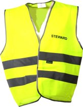 Joggy Safe Veiligheidsvest Steward Unisex Geel Maat L