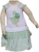 Peuter (feest)jurk meisje (Spaans modemerk Foque)