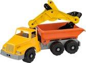 Vrachtwagen met Graafmachine
