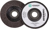 VONROC - Flap disc set 115mm 2 pc.