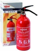 Ajax Brandblusser - Poeder - Inclusief Wandhouder - 1 Kg