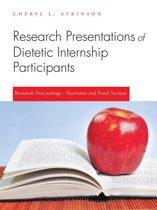 Research Presentations of Dietetic Internship Participants