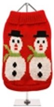 Hondentruitje Snowman Sweater Large