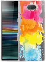 Sony Xperia 10 Hoesje Color Splatters