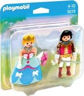 PLAYMOBIL DuoPack Prins en prinses   - 9215