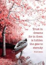 Ansichtkaarten Trust in dreams.. - 15x10.5 - Papier (10 stuks)