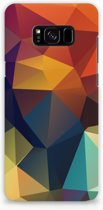 Hardcase Hoesje Samsung S8 Plus Design Polygon Color