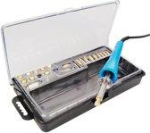 Elektrische houtbrander-pyrograveur met 23 verschillende tools